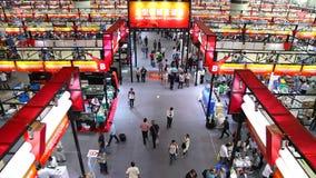 118ste kanton eerlijke zaal 1 1 machines, guangzhou, China stock videobeelden