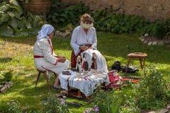11-ste nationaal Festival van de Bulgaarse Folklore Stock Afbeelding