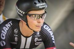 102ste Ronde van Frankrijk - Tijdproef - Eerste Stadium Royalty-vrije Stock Afbeeldingen
