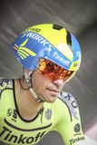 102ste Ronde van Frankrijk - Tijdproef - Eerste Stadium Stock Afbeeldingen