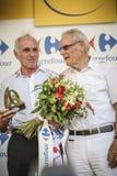 102ste Ronde van Frankrijk - Tijdproef - Eerste Stadium Stock Fotografie