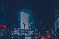 34ste 's nachts straat New York Royalty-vrije Stock Fotografie