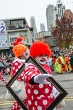 109ste Santa Claus Parade in Toronto Royalty-vrije Stock Foto's