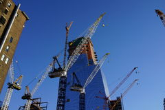 34ste St - Hudson Yards Subway Station 2 Royalty-vrije Stock Foto's