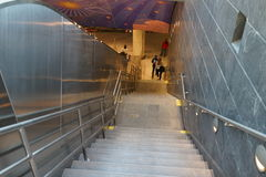 34ste St - Hudson Yards Subway Station 25 Royalty-vrije Stock Afbeelding