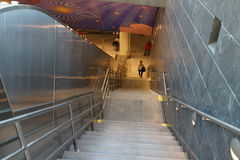 34ste St - Hudson Yards Subway Station Part 2 4 Royalty-vrije Stock Afbeelding
