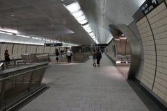 34ste St - Hudson Yards Subway Station Part 2 10 Stock Foto's