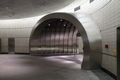 34ste St - Hudson Yards Subway Station Part 2 12 Stock Afbeelding