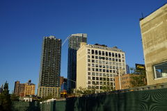 34ste St - Hudson Yards Subway Station Part 2 22 Stock Foto