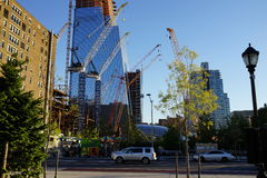 34ste St - Hudson Yards Subway Station Part 2 29 Stock Afbeelding