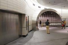 34ste St - Hudson Yards Subway Station Part 2 32 Royalty-vrije Stock Foto