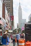 34ste Straat Stock Fotografie