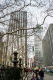 42ste Straat Royalty-vrije Stock Foto