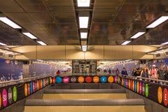 96ste Straat Nieuwe Metro in NYC stock foto's