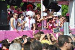 20ste Straatparade in Zürich Stock Foto's