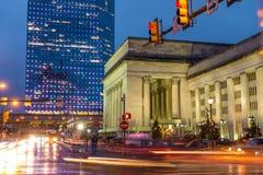 30ste Straatpost Philadelphia Stock Foto