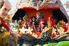 140ste uitgave van Carnaval van Viareggio Royalty-vrije Stock Foto's