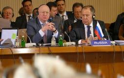 35ste Vergadering van de Raad van Ministers van Buitenlandse zaken van de Organisatie van de de Economische SamenwerkingsLidstaat Royalty-vrije Stock Fotografie