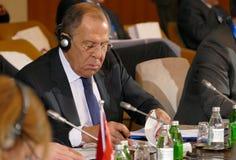 35ste Vergadering van de Raad van Ministers van Buitenlandse zaken van de Organisatie van de de Economische SamenwerkingsLidstaat Royalty-vrije Stock Afbeeldingen