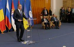 35ste Vergadering van de Raad van Ministers van Buitenlandse zaken van de Organisatie van de de Economische SamenwerkingsLidstaat Stock Fotografie