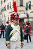 200ste verjaardag van de aankomst van Napoleon ` s in Portoferraio, Elba Royalty-vrije Stock Afbeeldingen