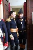 200ste verjaardag van de aankomst van Napoleon ` s in Portoferraio, Elba Royalty-vrije Stock Foto