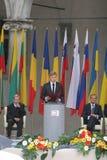 20ste Verjaardag van de instorting van Communisme in Midden-Europa Stock Foto's