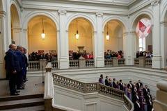 140ste verjaardag van de Kunst en de Industrieacademie van St. Petersburg Stock Foto's
