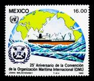 25ste verjaardag van de Overeenkomst van Internationale Maritiem Stock Fotografie