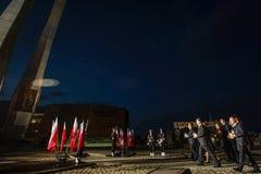 70ste verjaardag van de overwinning over Nazisme in Europa royalty-vrije stock afbeelding