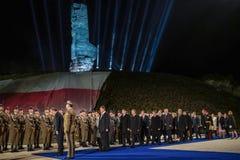 70ste verjaardag van de overwinning over Nazisme in Europa royalty-vrije stock afbeeldingen