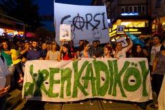 20ste verjaardag van de Sivas-slachting Stock Foto