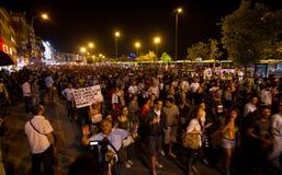 20ste verjaardag van de Sivas-slachting Stock Foto's