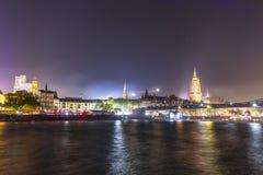 25ste verjaardag van Duitse Eenheid in Frankfurt Stock Fotografie