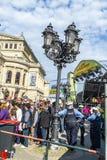 25ste verjaardag van Duitse Eenheid in Frankfurt Royalty-vrije Stock Foto