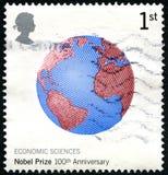 100ste Verjaardags Britse Postzegel Royalty-vrije Stock Foto