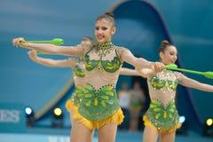 32ste Wereldkampioenschap in Ritmische Gymnastiek Stock Fotografie