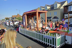 118ste Whitstable Carnaval Royalty-vrije Stock Foto's