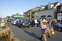 118ste Whitstable Carnaval Royalty-vrije Stock Afbeeldingen