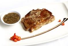 Steakï-¼ ˆBeefSteakï ¼ ‰ Stockfoto