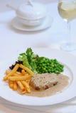 Steak royaltyfri foto