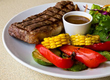 Steak Stockbild