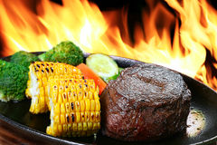 Steak Lizenzfreie Stockfotos