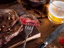 Steak Stockfoto