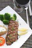 Steak-Abendessen stockbild