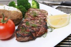 Steak-Abendessen Stockbild