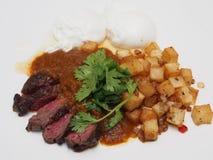 Steak-Abendessen Stockfoto