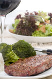 Steak-Abendessen Stockfoto