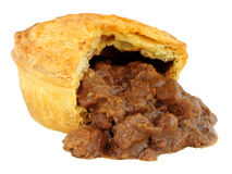 Steak And Ale Pie Stock Images