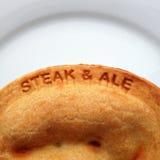 Steak & Ale Pie Stock Photos
